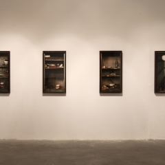"""Installation view from the series """"Personal objects"""""""