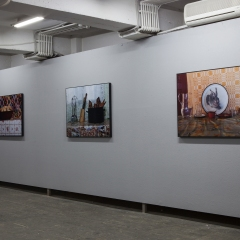 """Installation view from the series """"Nature Morte"""""""