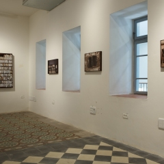 """Installation view from the series """"Monuments of Remembrance"""" and """"Cellars of the Soul"""""""