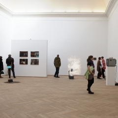 """Installation view from the series """"Reflection 2010"""""""