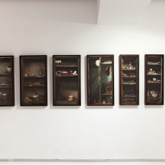 Installation view from the series Personal objects