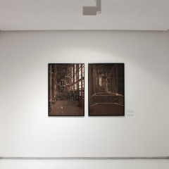 Installation view from the series End Station?
